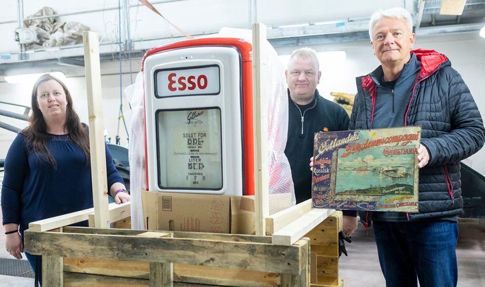 Norsk vegmuseum mottok i 2020 flere unike gjenstander fra veteraner i Esso. Foto: Morten Reiten (Foto/Photo)