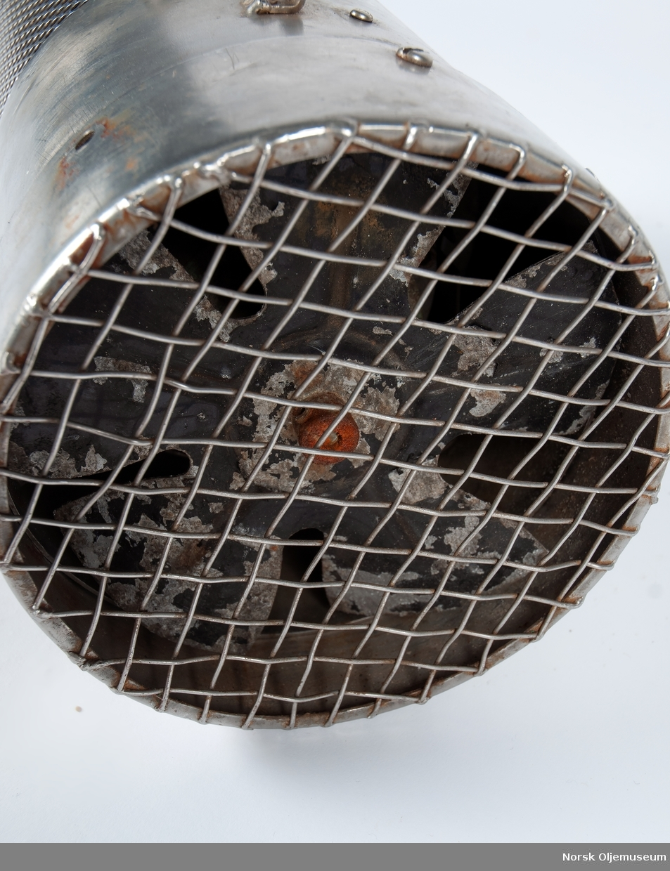 Varmeleement til bruk i dykkerklokke.