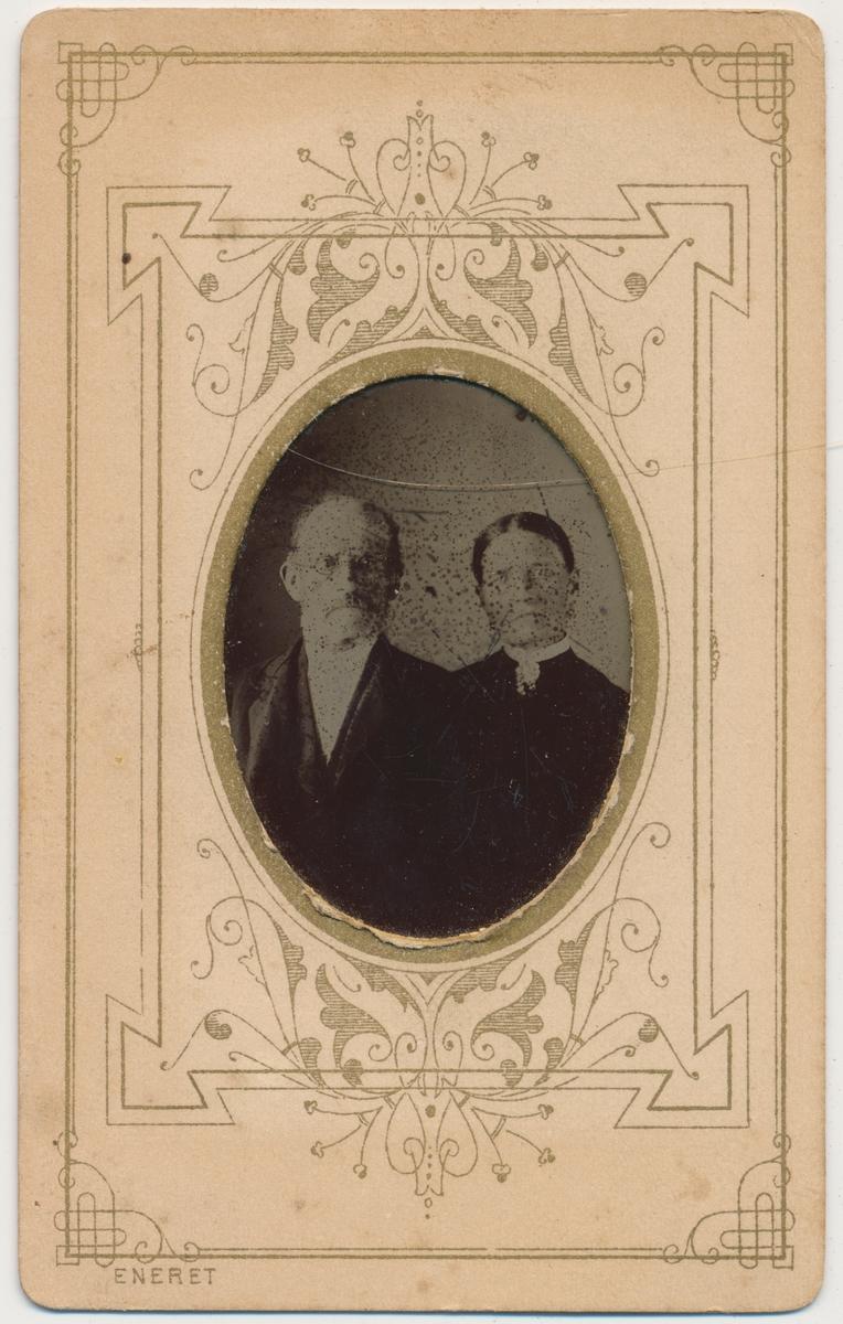 Portrett av eldre par, ukjente