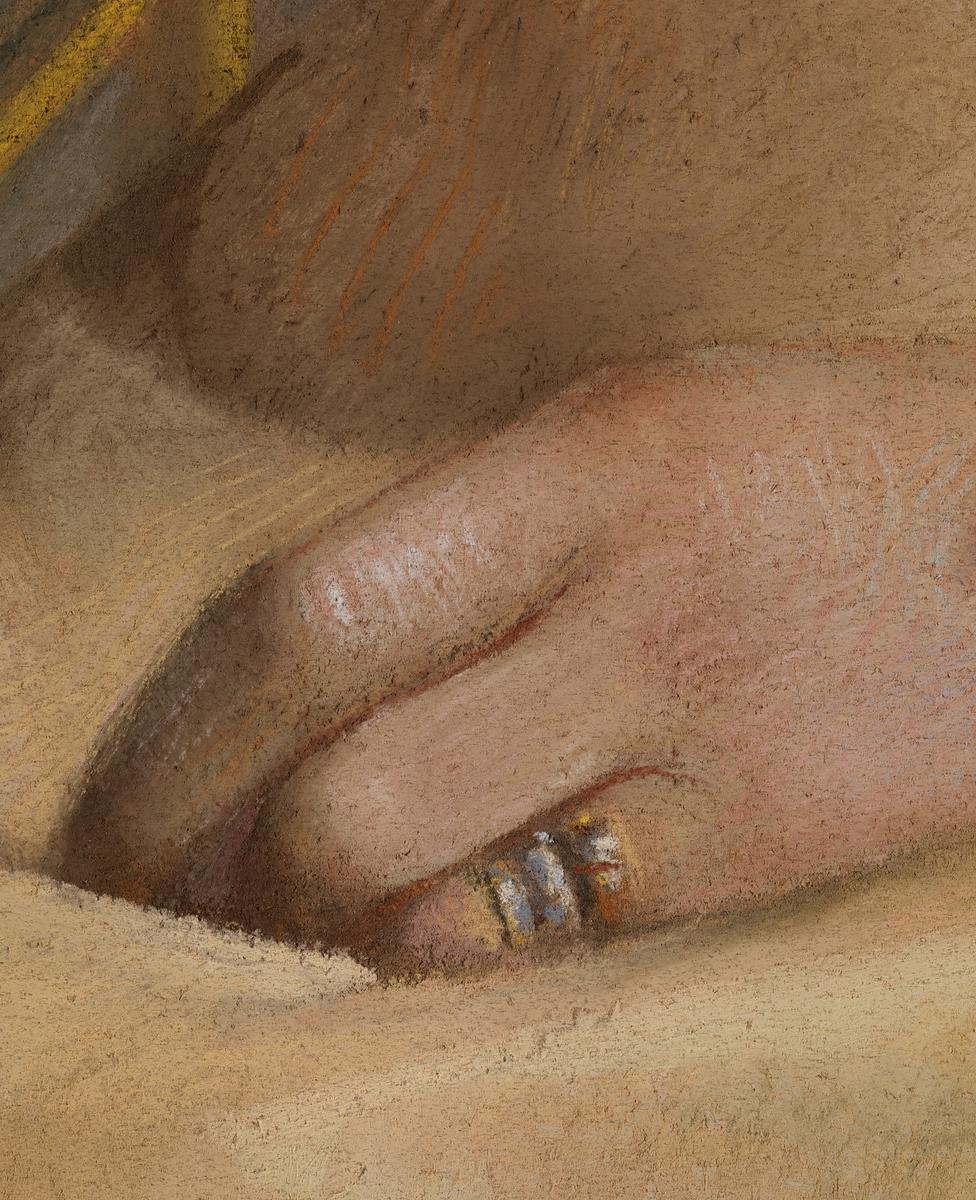 Marthine Cappelen Hjort, f. Kiær [Maleri]