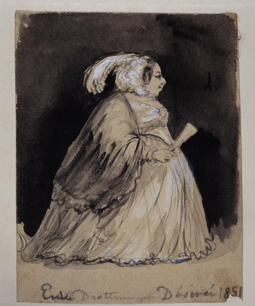 Drottning av Sverige och Norge, regent 1818-1844