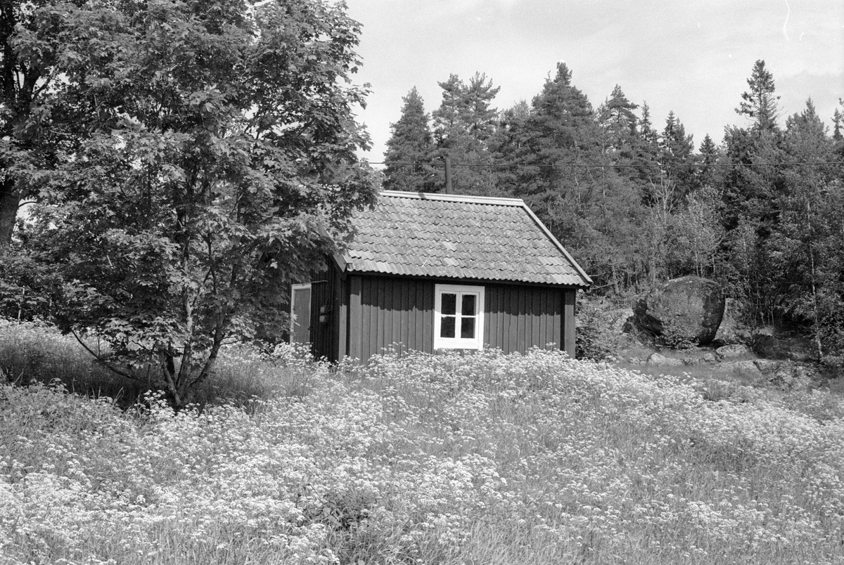 Bod, Norränge, Burvik, Knutby socken, Uppland 1987