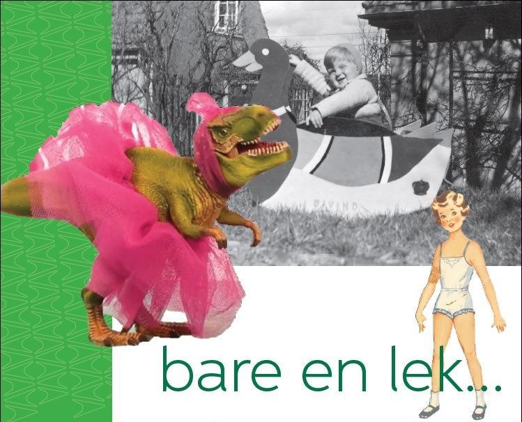 'Bare en lek...' Logo. Foto/Photo