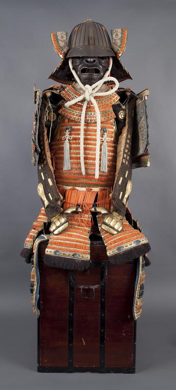 En japansk samurairustning fra 1800-tallet (Foto/Photo)