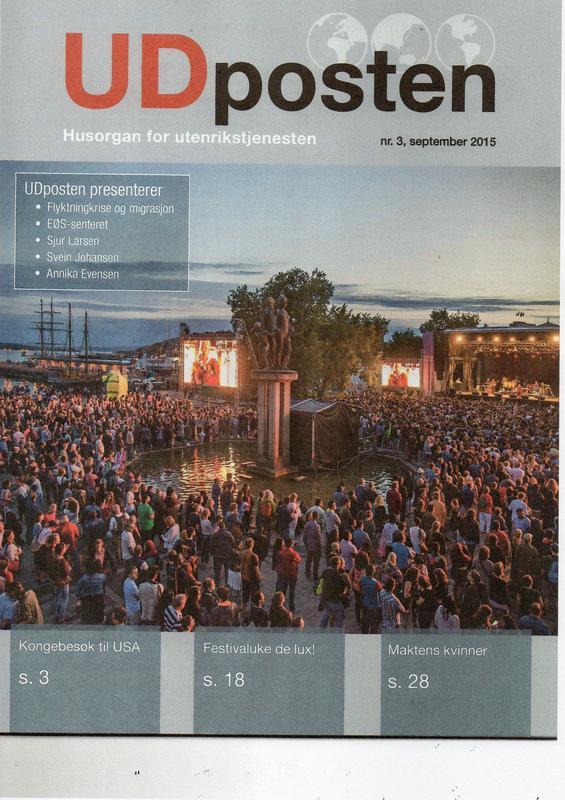 UDposten, forside nr 3/2015