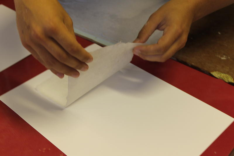 Each piece of hand-crafted paper is completely unique, like no other.