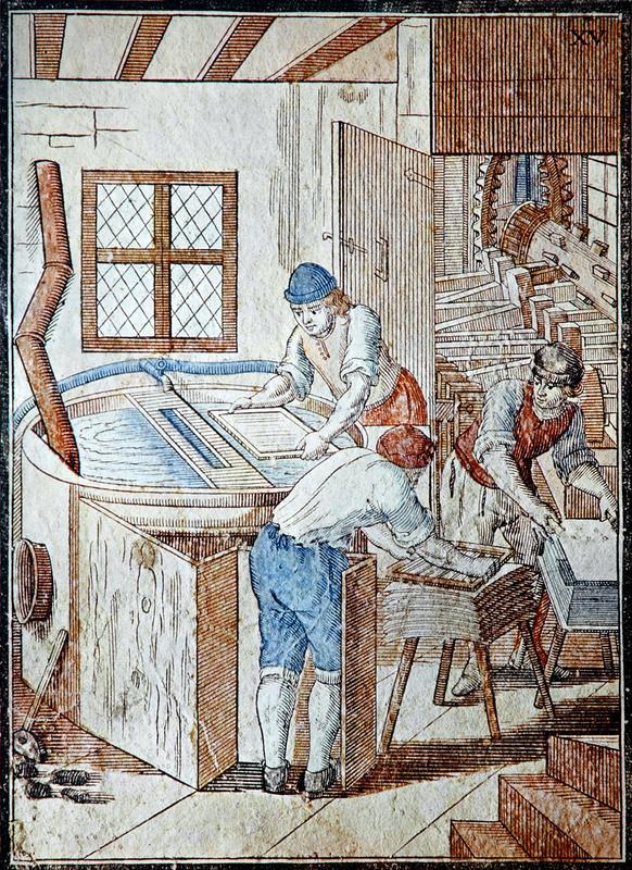 Papirlaging