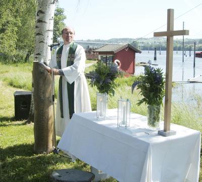 Økumenisk gudstjeneste på Fetsund lenser