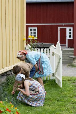 Barn i Trøndelagstunet
