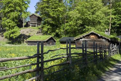 Gudbrandsdalssetra på Norsk Folkemuseum. Foto/Photo