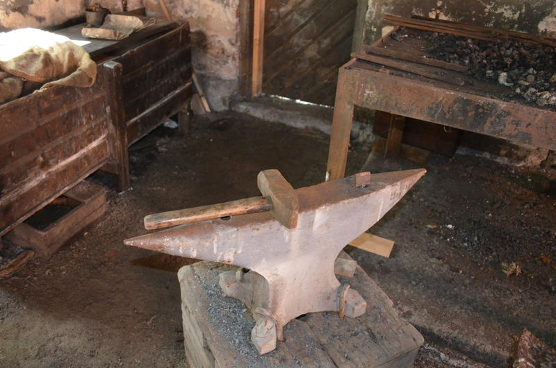 The anvil was one of the blacksmith's most important tools. (Foto/Photo)