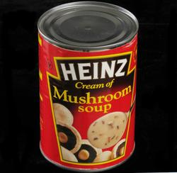 Hermetikkboks Heinz soppsuppe