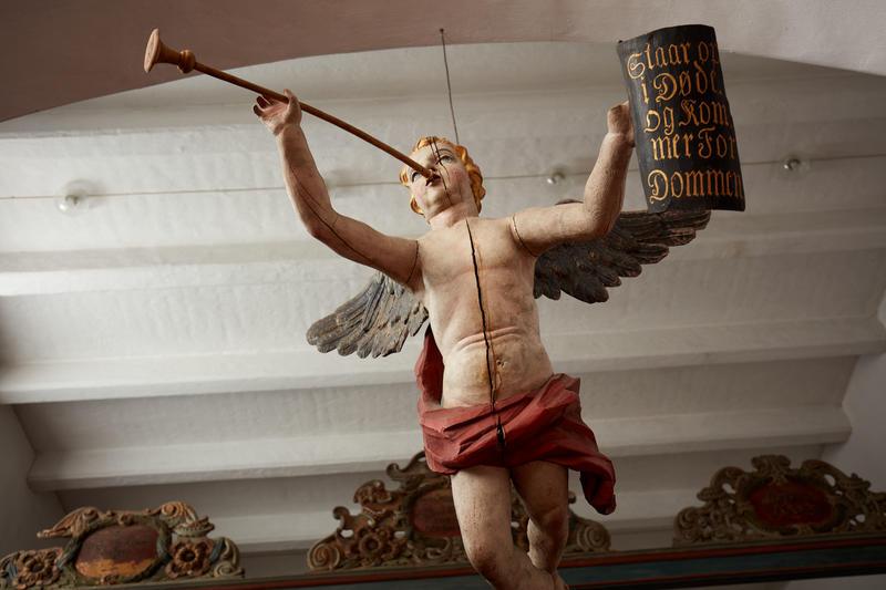 Invitasjon til årlige julekonserter i utstillingen Norsk Kirkekunst.