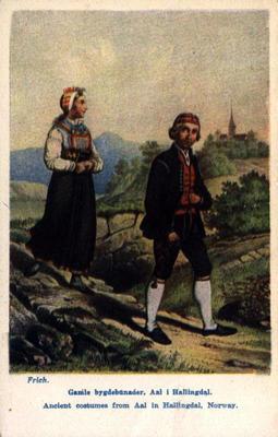 Folkedrakter fra Ål