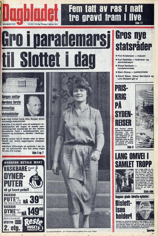 Dagbladet  1981