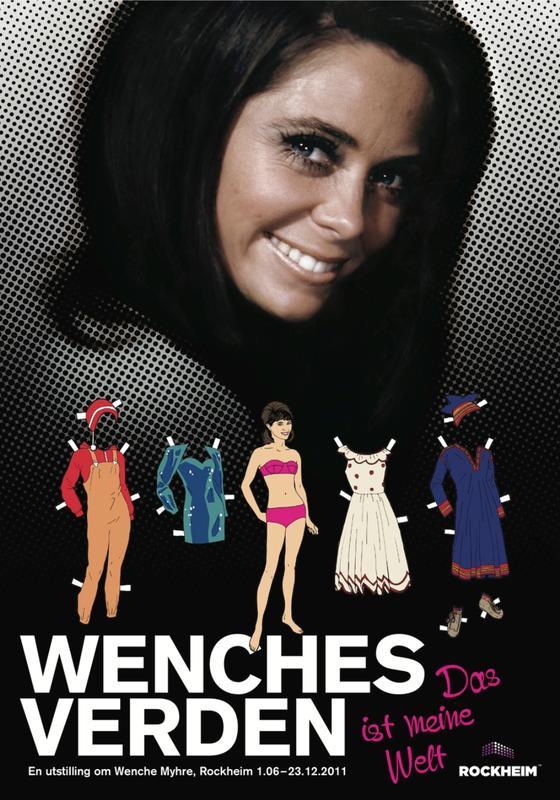 Wenches verden - utstillingsplakat