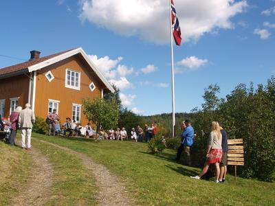 Allsang på Eidskog Almenninga under «Før i væla» i august. Foto: Ingrid Brustad/Eidskog museum (Foto/Photo)
