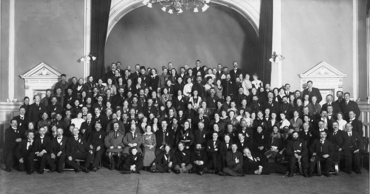 Landsmøtet i Trondheim 1917