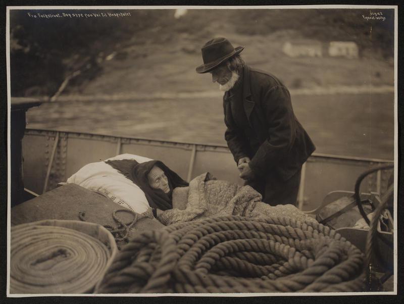 Siste reis. 1910.