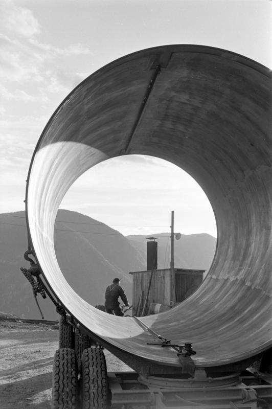 Dalen, Tokke, september 1960. Rør. (Foto/Photo)