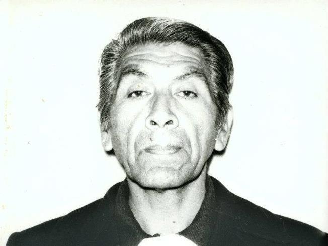 Alfredos far etter tre år som fange. Bildet ble tatt i fengselet til passet han skulle bruke for å komme til Norge. Han hadde gått ned tjue kilo i fengselet. (Foto/Photo)