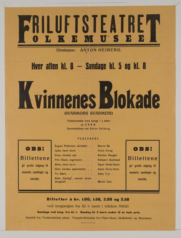 Teaterplakat NF.34668-066
