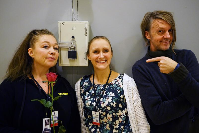 Anne Fossen (fra venstre), domkantor Karen Haugom Olsen og Ganges Nordal har lagt mye arbeid i prosjektet og fokusert på musikk, stemmebruk, kommunikasjon, respekt og humor.