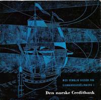Vidar Sandbeck Reklame-EP for sjømannsavdelingen i Den norske Creditbank (Foto/Photo)