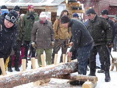 Røing av tømmerstokk