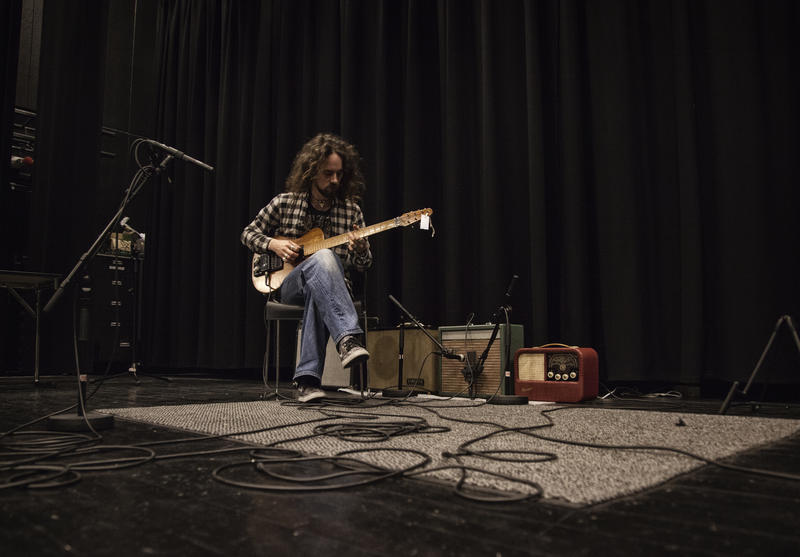 Musiker Skjalg Raaen (Foto/Photo)
