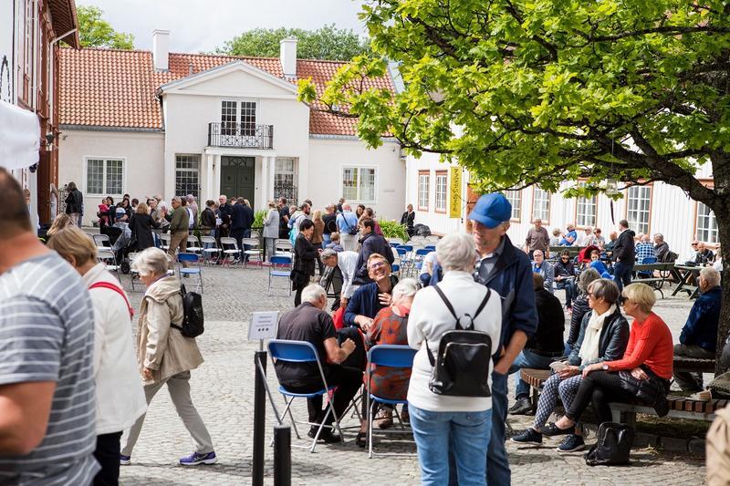 Lunt utendørs på Ringve-tunet. Foto: Jan Ove Iversen