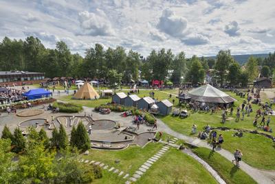 Oversiktsbilde DNJFD museumsområdet. Foto/Photo