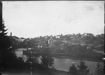 Ørje Brug mølle og sagbruk DS Thor foto ca 1898