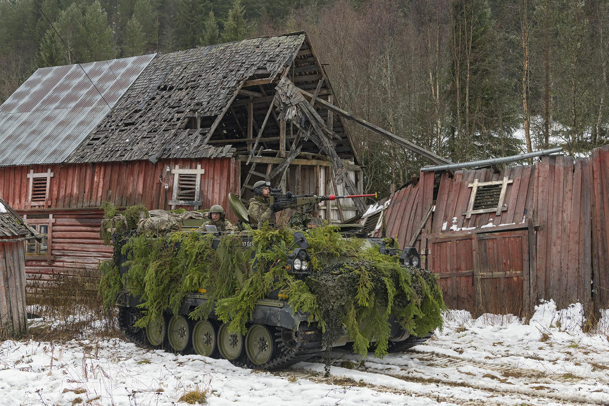 Nato-øvelse i Tylldalen, Hedmark. (Foto/Photo)