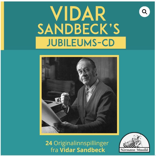 CD nr. 6 Vidar Sandbeck's jubileums-CD (Foto/Photo)