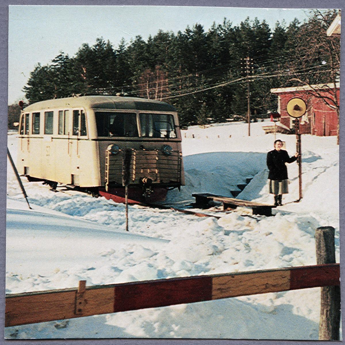 Statens Järnvägar, SJ YP 727 i Vassemåla.