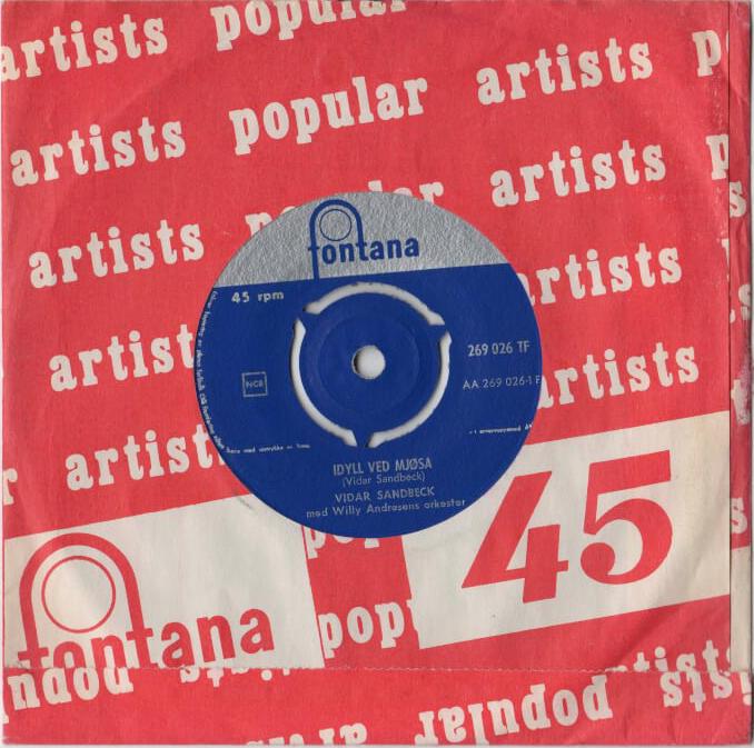 Vidar Sandbeck single nr. 13 (Foto/Photo)