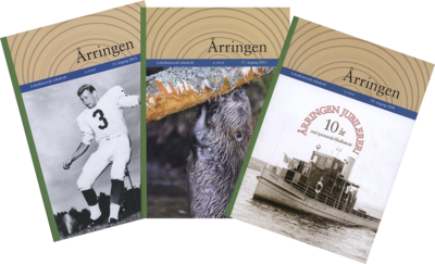 """Collage av forsider fra tidsskriftet """"Årringen"""".. Foto/Photo"""
