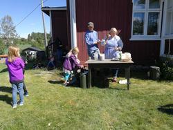 Servering med elever (Foto/Photo)