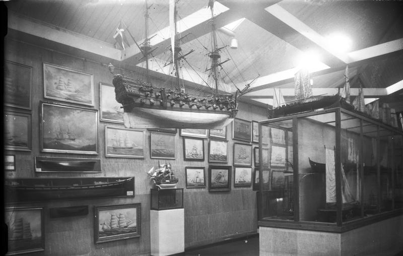 Norsk Sjøfartsmuseums utstilling i Ridehuset.