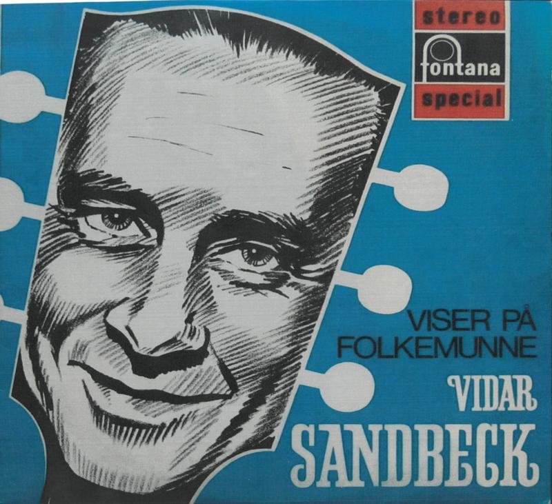 LP-cover Viser på folkemunne Vidar Sandbeck (Foto/Photo)