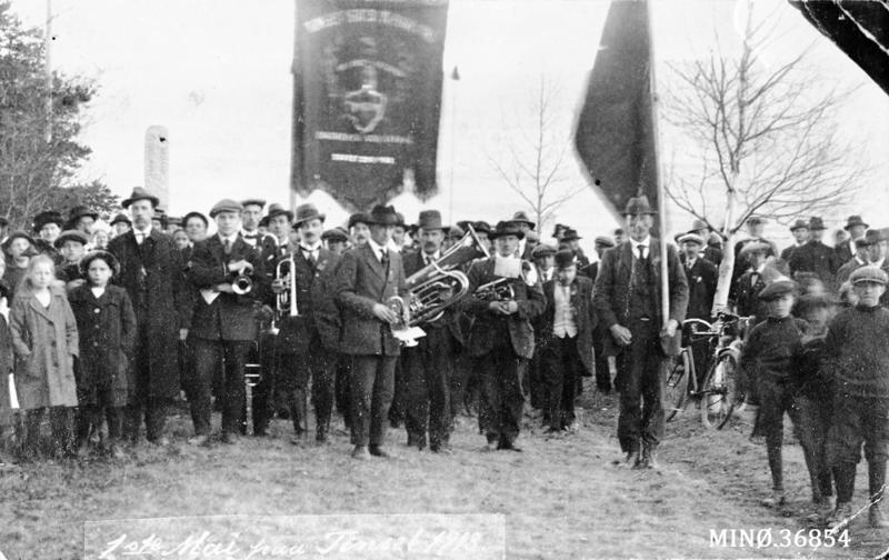 1. mai på Tønset 1918