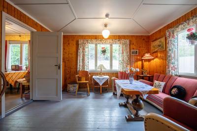 Stua i bolighuset fra Olderfjord (Foto/Photo)