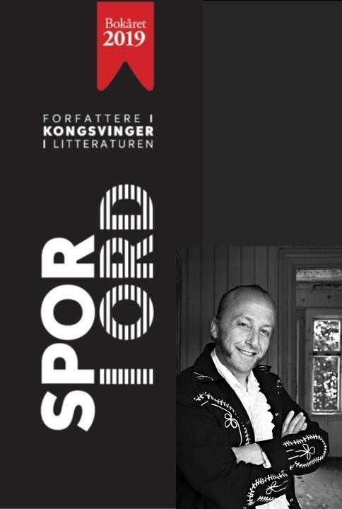 Levi Henriksen, en av forfatterne i utstillingen. Foto/Photo