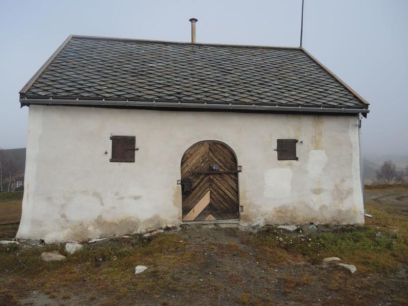 Krutthuset på Korthaugen skanse