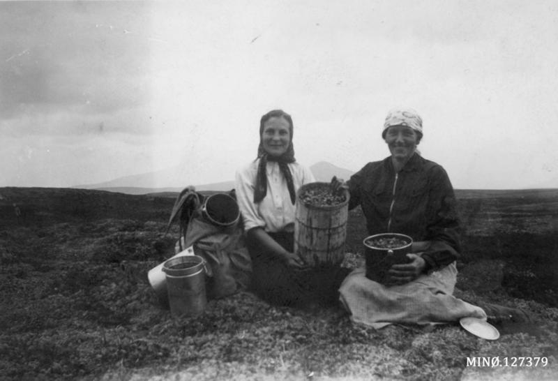 På bærtur - Taugbøl fra Eidsvoll og Karen Nordseth