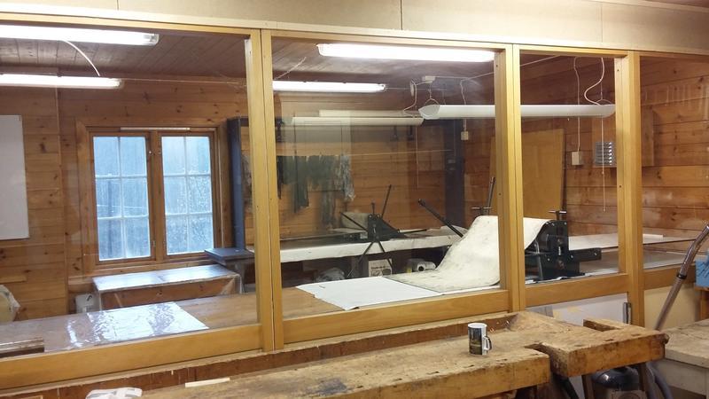 Grafikkrommet på verkstedet (Foto/Photo)