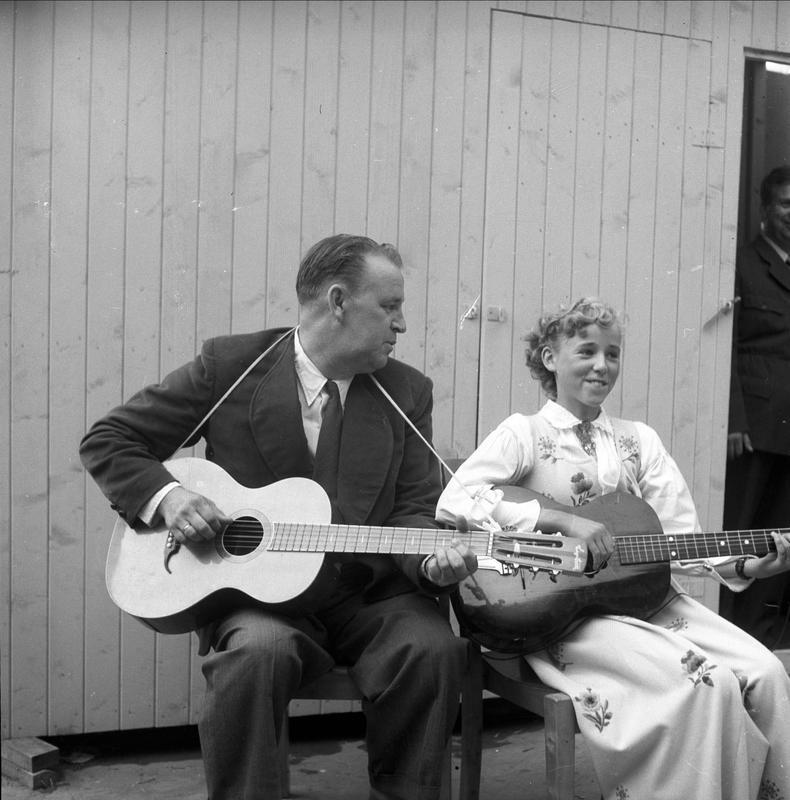 Alf Prøysen 1954