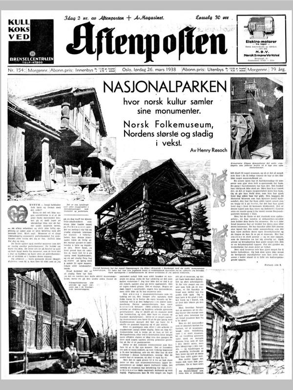 Aftenposten 1938