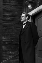 Aleksander på trappa (Foto/Photo)